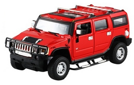 Автомобиль радиоуправляемый Meizhi Hummer H2 1:24 красный