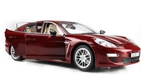 Фото 2 к товару Автомобиль радиоуправляемый Meizhi Porsche Panamera 1:18 красный