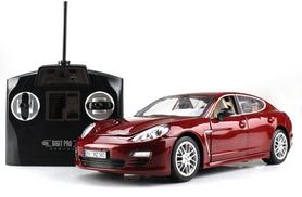 Фото 7 к товару Автомобиль радиоуправляемый Meizhi Porsche Panamera 1:18 красный