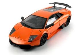 Фото 3 к товару Автомобиль радиоуправляемый Meizhi Lamborghini LP670-4 SV 1:18 оранжевый