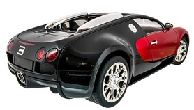Фото 3 к товару Автомобиль радиоуправляемый Meizhi Bugatti Veyron 1:14 красный