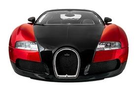 Фото 5 к товару Автомобиль радиоуправляемый Meizhi Bugatti Veyron 1:14 красный