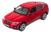 Автомобиль радиоуправляемый Meizhi BMW X6 1:14 красный - фото 2