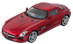 Фото 2 к товару Автомобиль радиоуправляемый Meizhi Mercedes-Benz SLS AMG 1:14 красный