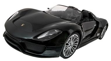 Автомобиль радиоуправляемый Meizhi Porsche 918 1:14 черный