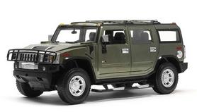 Фото 1 к товару Автомобиль радиоуправляемый Meizhi Hummer H2 1:10 зеленый