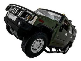 Фото 2 к товару Автомобиль радиоуправляемый Meizhi Hummer H2 1:10 зеленый
