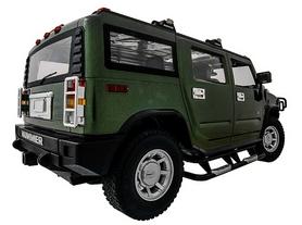 Фото 5 к товару Автомобиль радиоуправляемый Meizhi Hummer H2 1:10 зеленый