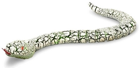 Змея на инфракрасном управлении Rattle snake серая
