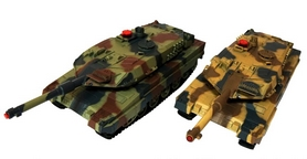 Танковый бой радиоуправляемый HuanQi 558 1:24