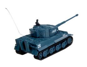 Фото 3 к товару Танк радиоуправляемый Tiger 1:72 микро серый со звуком