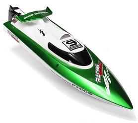 Фото 2 к товару Катер радиоуправляемый Fei Lun FT009 High Speed Boat зеленый