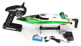Фото 6 к товару Катер радиоуправляемый Fei Lun FT009 High Speed Boat зеленый