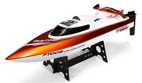 Катер радиоуправляемый Fei Lun FT009 High Speed Boat оранжевый