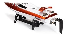 Фото 3 к товару Катер радиоуправляемый Fei Lun FT009 High Speed Boat оранжевый