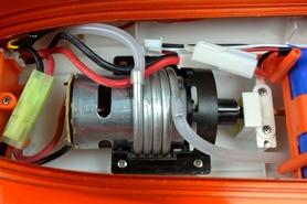 Фото 5 к товару Катер радиоуправляемый Fei Lun FT009 High Speed Boat оранжевый