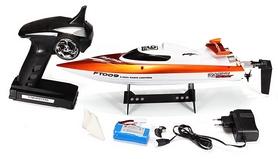 Фото 6 к товару Катер радиоуправляемый Fei Lun FT009 High Speed Boat оранжевый