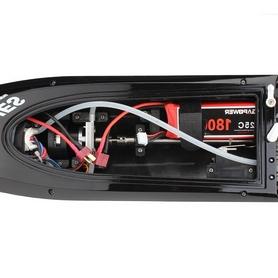 Фото 5 к товару Катер радиоуправляемый Fei Lun FT012 High Speed Boat бесколлекторный черный