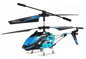Фото 3 к товару Вертолет на инфракрасном управлении 3-к WL Toys S929 с автопилотом синий