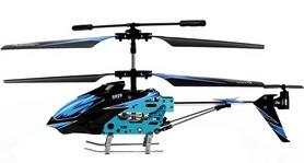 Фото 4 к товару Вертолет на инфракрасном управлении 3-к WL Toys S929 с автопилотом синий