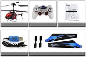 Фото 6 к товару Вертолет на инфракрасном управлении 3-к WL Toys S929 с автопилотом синий
