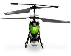 Фото 2 к товару Вертолет на инфракрасном управлении 3-к WL Toys V757 BUBBLE зеленый