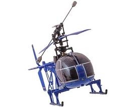 Фото 3 к товару Вертолет радиоуправляемый 4-к WL Toys V915 Lama синий