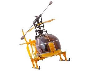 Фото 2 к товару Вертолет радиоуправляемый 4-к WL Toys V915 Lama желтый
