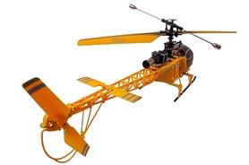 Фото 4 к товару Вертолет радиоуправляемый 4-к WL Toys V915 Lama желтый