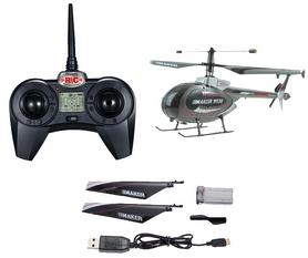 Фото 3 к товару Вертолет радиоуправляемый 4-к Xieda 9938 Maker серый