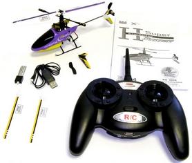Фото 3 к товару Вертолет радиоуправляемый 4-к Xieda 9958 фиолетовый