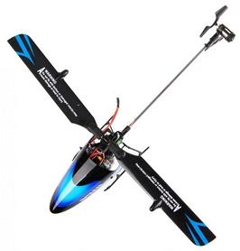 Фото 3 к товару Вертолет радиоуправляемый 3D WL Toys V922 FBL синий