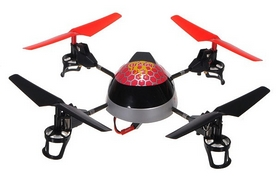 Фото 3 к товару Квадрокоптер WL Toys V949 UFO Force фиолетовый