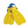 Ласты для плавания с открытой пяткой Intex 55930 желтые - фото 1