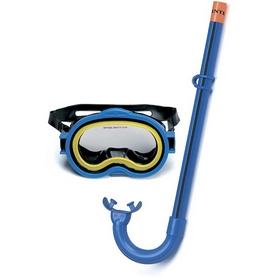Набор для плавания (маска + трубка) Intex 55942 синий