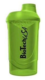 Фото 1 к товару Шейкер BioTech USA Wave 600 мл зеленый