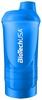 Шейкер BioTech USA Wave+ Shaker 3в1 600 мл голубой - фото 1