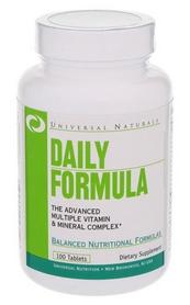 Комплекс витаминов и минералов Universal Nutrition Daily Formula (100 таблеток)