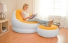 Кресло надувное Intex 68572 (110х109х71 см) оранжевое - фото 2