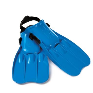 Ласты для плавания с открытой пяткой Intex 55930 синие