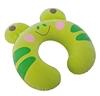 Подушка-подголовник надувная детская Intex 68678-G (30х28х8 см) зеленая - фото 1