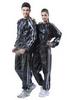 Костюм сауна для похудения Exercise Suit 0,17 мм черный - фото 1
