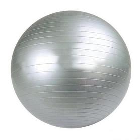 Мяч для фитнеса (фитбол) 75 см серый