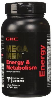 Комплекс витаминов и минералов Form Labs GNC Mega Men Energy & Metabolism (90 капсул)