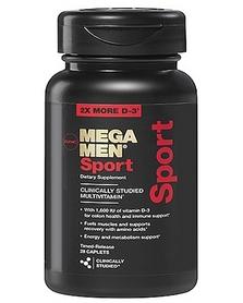 Фото 1 к товару Комплекс витаминов и минералов Form Labs GNC Mega Men Sport (28 капсул)