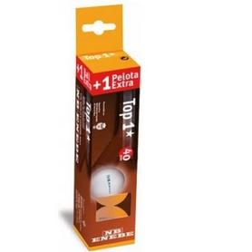 Фото 1 к товару Набор мячей для настольного тенниса Enebe TOP 1* 4 шт. оранжевые