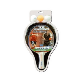 Набор для настольного тенниса (1 ракетка, 3 мяча, чехол) Enebe Select team