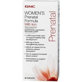 Комплекс витаминов и минералов Form Labs GNC Prenatal Formula (120 капсул)