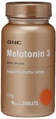 Комплекс витаминов Form Labs GNC Melatonin 3 (60 капсул)