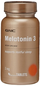 Комплекс витаминов Form Labs GNC Melatonin 3 (60 капсул)